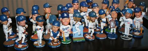 bobblehead list dodgerbobble a complete list of all 39 dodger stadium