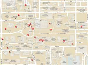 u of arizona cus map heritage trees on the ua cus of arizona