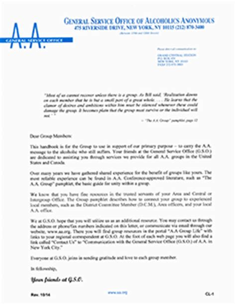 Aa Sponsor Letter To Judge Alcoholics Anonymous A A