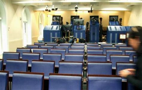 White House Press Briefing Room by Visiting The White House This Is True
