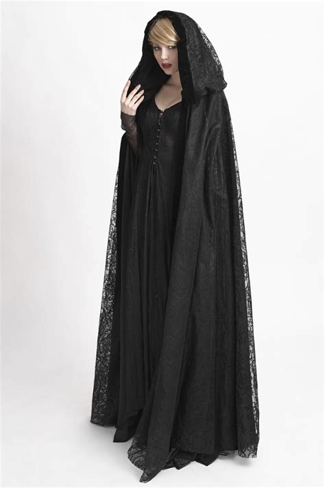 pattern cloak of the black void gothic trench coats reviews online shopping gothic