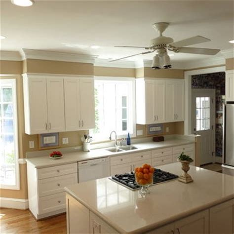 kitchen crown molding ideas kitchen soffit kitchens and decor on