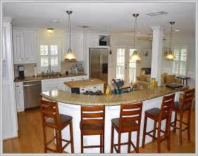 Kitchen Island With Seating For 5 by Kitchen Island Seating For 8 Home Design Ideas