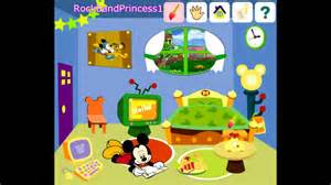 Arrange A Room Online mickey mouse clubhouse game decorate house game mickey