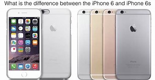 Image result for What is the Differences between Sixes and 6S. Size: 308 x 160. Source: www.youtube.com
