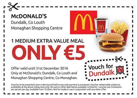 printable mcdonalds vouchers 2016 coupons vouchers free november