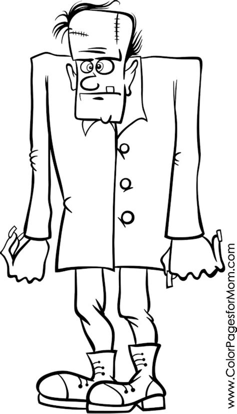 frankenstein coloring pages advanced coloring pages frankenstein coloring page