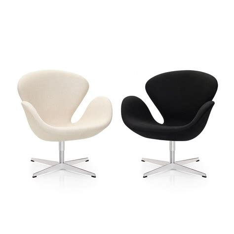 Swan Sessel by Swan Chair Sessel Stoff Fritz Hansen Ambientedirect