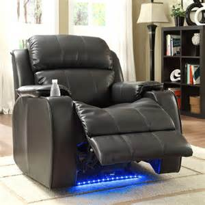 superior quality item jason leather power recliner with