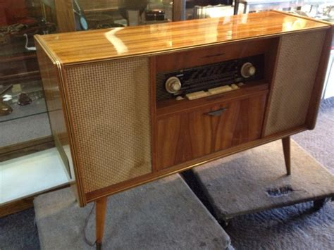 1960s Record Player Cabinet by