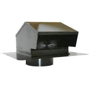 speedi products 6 in galvanized flush roof cap in black