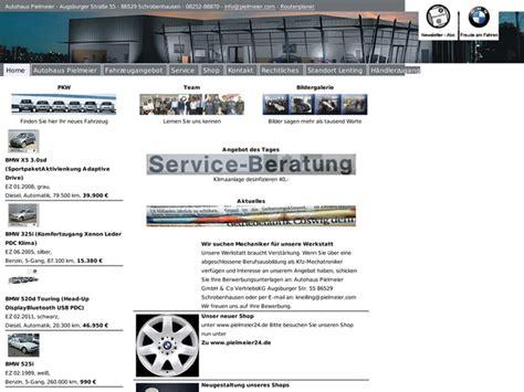 Motorrad Bmw Lenting by Autohaus Pielmeier Gmbh Co In Lenting Motorradh 228 Ndler