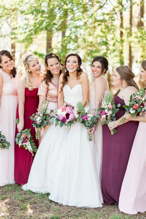 17 Best images about Mismatched Bridesmaid Dress Ideas on