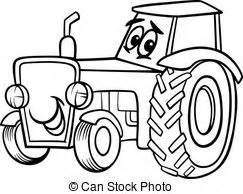 Tractor Illustrations And Clip Art 31813 Royalty Free  sketch template