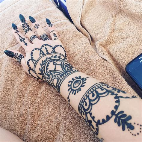 henna pattern tattoo how do henna tattoos last 75 inspirational designs