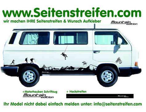 Autoaufkleber Zermatt by Professionelle Auto Seitenstreifen Seitensdekore Wunsch