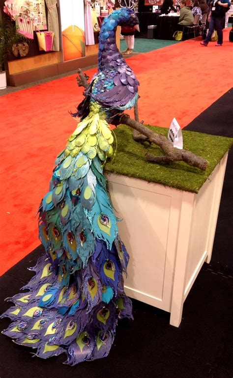How To Make A Paper Mache Peacock - 29 best images about scrapbooking trends peacocks on