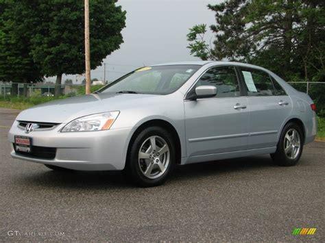 2005 honda accord hybrid 2005 silver metallic honda accord hybrid sedan