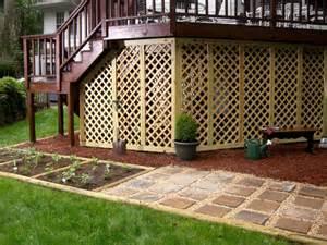 ideas for closing in a patio the deck storage ideas diy