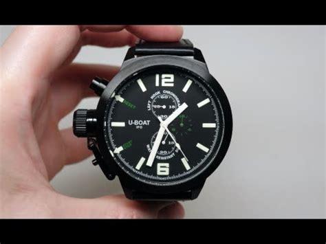 u boat watch unboxing limited edition u boat u 42 watch doovi