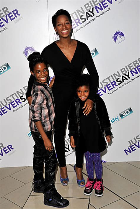 Juicy Couture Home Decor by Jamelia And Her Girls Get Dressed Up For Justin Bieber