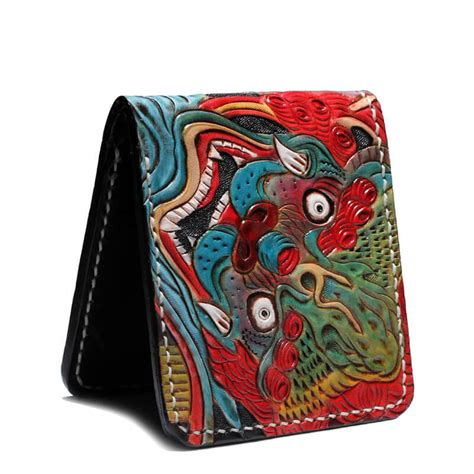 Handmade Biker Wallet - handmade leather biker wallet makkashop