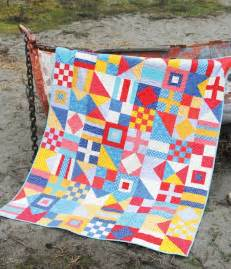 Nautical Quilts Nautical Lucky And Frolic Cluck Cluck Sew
