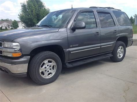 how it works cars 2002 chevrolet tahoe auto manual purchase used 2002 chevrolet tahoe ls sport utility 4 door 5 3l in westmoreland kansas united