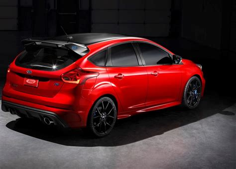 ford limited edition ford focus rs limited edition 2018 una despedida con
