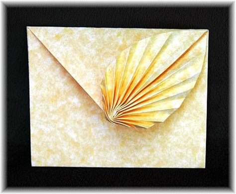 Origami Leaf Envelope - origami gallery 2011