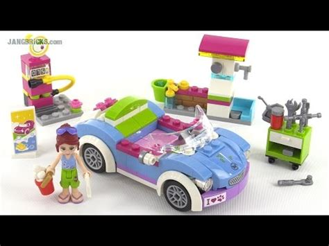 Lego Friends Auto by Lego Friends Mia S Roadster Review Set 41091 Youtube