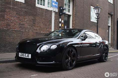 bentley and black bentley continental gt v8 s concours series black 27