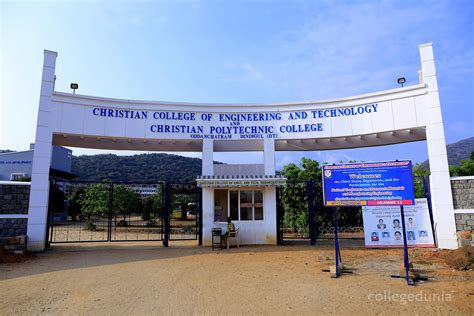 Vins Christian College Of Engineering Mba by Christian College Of Engineering And Technology Ccet