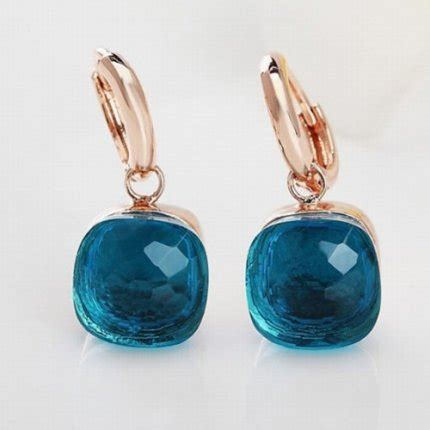 pomellato nudo replica pomellato nudo earrings replica in gold with