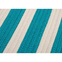 Turquoise Outdoor Rug Colonial Mills Stripe It Turquoise Indoor Outdoor Area Rug Reviews Wayfair