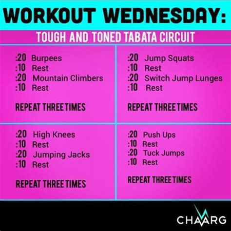 the best diy of the day tabata workout