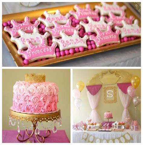 princess themed party games rosa e dourado festa de princesa princesas pinterest