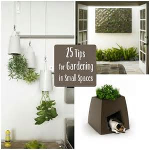 Gardening Ideas For Small Spaces 25 Tips For Gardening In Small Spaces