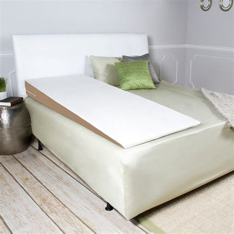 bed full of pillows acid reflux full length half bed wedge pillow topper w