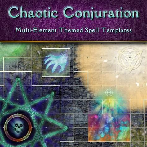 pathfinder spell templates chaotic conjuration roll20 marketplace digital goods