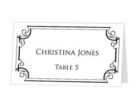 instant print at home place cards template by 43lucy 9 95 menus name cards