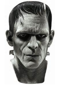Frankenstein Mask Deluxe Frankenstein Mask