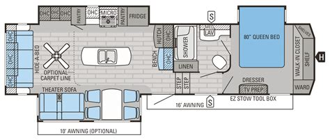 eagle fifth wheel floor plans 2015 eagle fifth wheels fifth wheels floorplans prices
