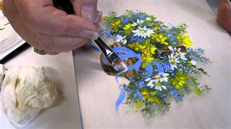 floral techniques  lesson  decorative painting