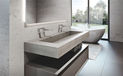 cement bathroom sinks custom concrete bathroom sinks trueform concrete
