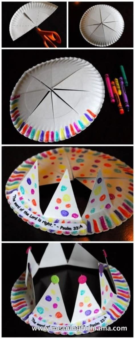 Some Paper Crafts - some easy and funky diy paper plate crafts for diy