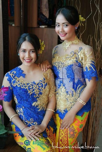 Kebaya Gold Biru Payet by Kebaya Modern Biru Dengan Aksen Emas