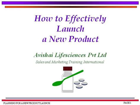 new product launch presentation template how to effectively launch a new product authorstream