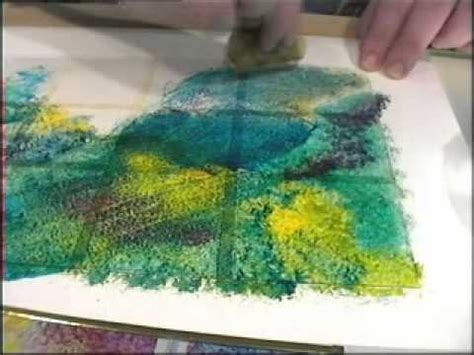 watercolor tutorial glass glass painting sponging and stippling youtube craft