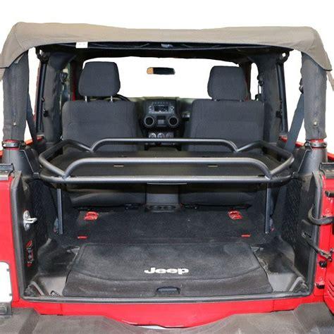 Jeep Jk Rear Cargo Rack 86623 Rear Sport Rack For 07 15 Wrangler Jk 4 Doors